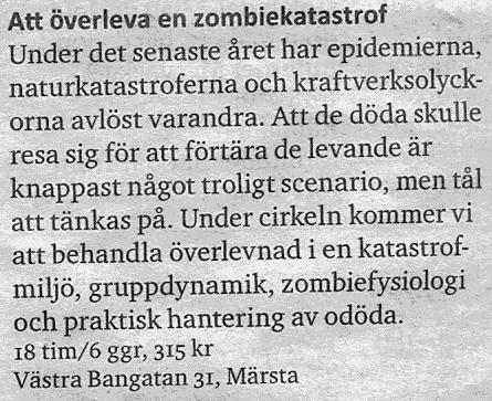 Zombie-kurs
